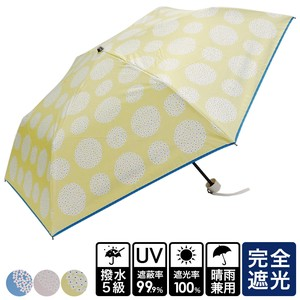 20 S/S All Weather Umbrella Scandinavia Circle Flower Folding UV Cut Countermeasure
