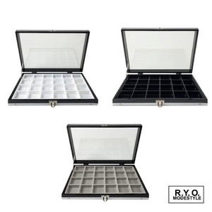 Loose Case Tools/Furniture Natural stone Aluminium Glass Case Storage