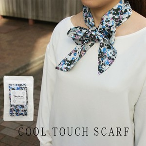 Antibacterial Deodorization Floret Pattern Sheet Attached Scarf