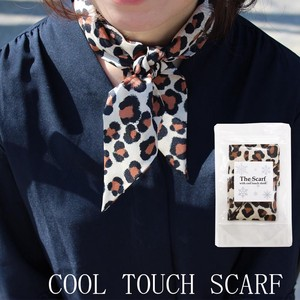 Antibacterial Deodorization Leopard Sheet Attached Scarf