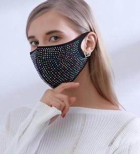 2021新作 ドリル 亮 流行 空気を通す マスク 大人 花粉対策 純綿マスク 19B229