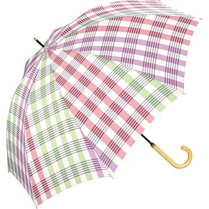 Umbrella Stick Umbrella Checkered