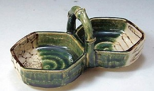 Spice Tray Made in Japan Pottery