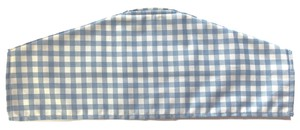 Dry Clothes Hanger Gingham Blue