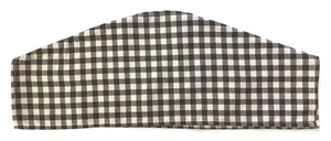Dry Clothes Hanger Gingham Black