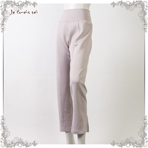 Material Soft Ball Knitted Leggings Pants Solid Wearing Pattern Cut And Sewn Pants Lady