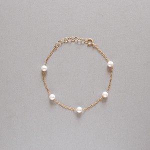 〔14kgf〕淡水パールブレスレット (pearl bracelet)