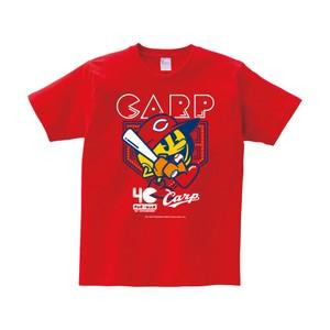 【予約販売】 カープ×パックマンコラボ Tシャツ(パックマン)