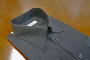 Color Dress Shirt Black