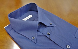Color Dress Shirt Navy