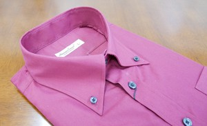 Color Dress Shirt Wine Red