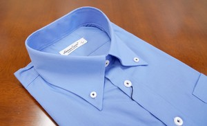 Color Dress Shirt Blue