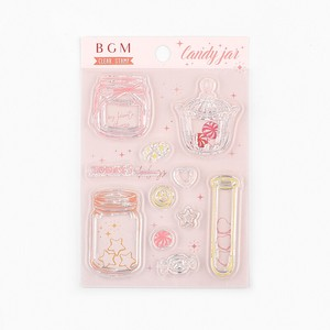 BGN Clear Stamp Retro / Candy Can