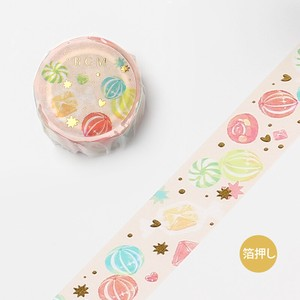 20 [BGM] Washi Tape  / Masking Tape Ink Di 20mm*5m