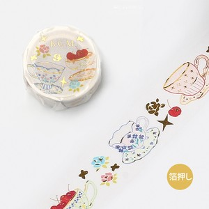 20 [BGM] Washi Tape  / Masking Tape Ink Cup 20mm*5m