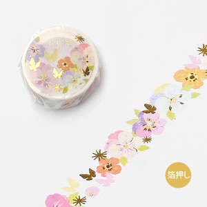 20 [BGM] Washi Tape  / Masking Tape Ink Rossa 20mm*5m