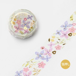 20 [BGM] Washi Tape  / Masking Tape Ink Botanical 20mm*5m