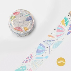 20 Washi Tape 20 Umbrella 20mm*5m