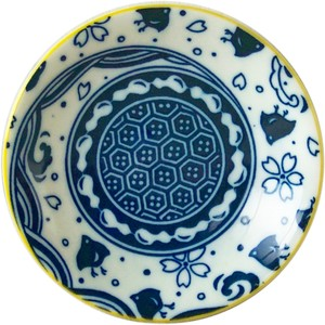 Plate Blue Made in Japan made Japan