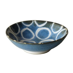 Blue Mini Dish Made in Japan made Japan