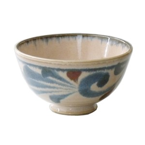 Blue Arabesque Bowl Made in Japan made Japan