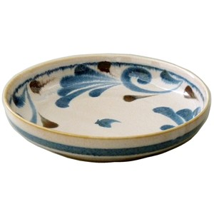 Blue Arabesque Pasta Bowl Made in Japan made Japan