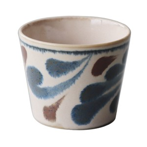 Blue Arabesque Soba Choko Cup Made in Japan made Japan