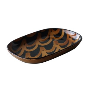 Wave Sand Witch Tray Made in Japan made Japan