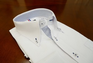 Dobby Dress Shirt White SUN