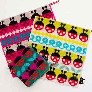 20 S/S Ladybugs Wash Towel Towel Collection