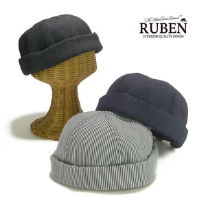 Ruben Denim Cap Young Hats & Cap