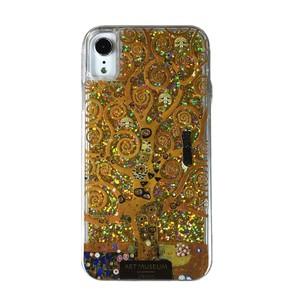 ARTiFY iPhone XR グリッターケース クリムト 生命の樹 ゴールド AJ00397