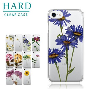 Smartphone Case iPhone Each Type Hard Case Flower