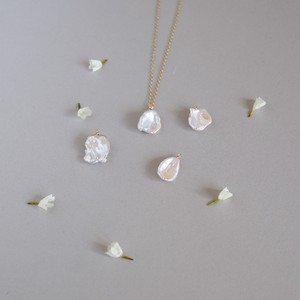 Petal Pearl Necklace