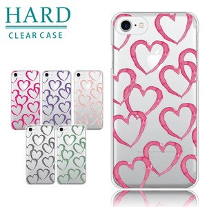 Smartphone Case iPhone Each Type Hard Case Heart