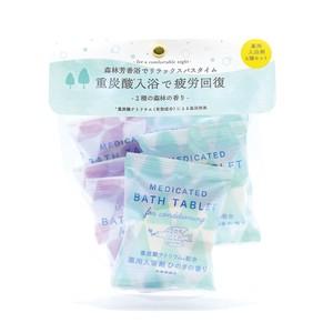 <3月中旬発売/先行受注>重炭酸バスタブレット6Pセット 森林の香り[医薬部外品]
