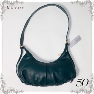 Material Synthetic Leather Bag Croissant type Shoulder Bag Bag