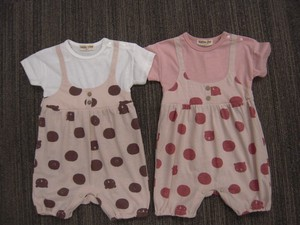 Animal Dot Rompers