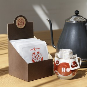【10個】紅白珈琲 〜不苦労〜 <ドリップコーヒー/ドリップバッグ>