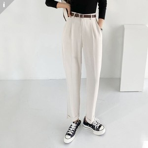 pin Tuck Pants Fit Long Pants