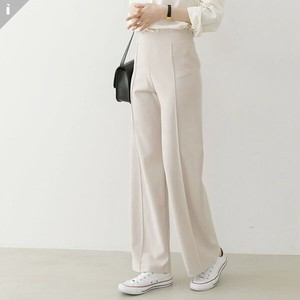 pin Tuck Pants Wide Fit Long Pants