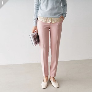 Pants Slim 9/10Length Office Look Long Pants