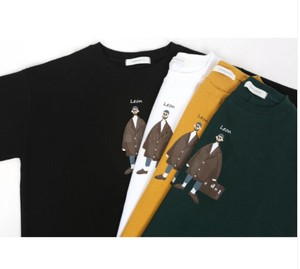 [2021 New Product] Painting Illustration Short Sleeve T-shirt Men's Apparel