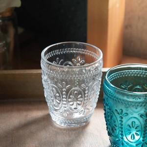 【特価品】Flowerdropグラス クリアー[B品]【ガラス】[中国製/洋食器]