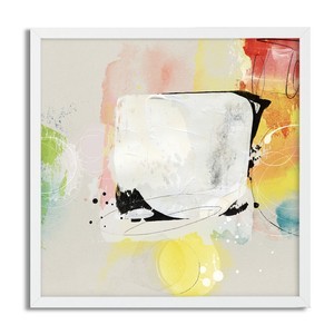 Square Poster Art Paint Scandinavia Representational Painting Frame