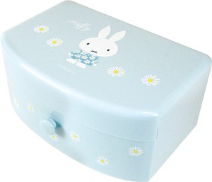 Miffy Attached Jewelry Box Blue Green