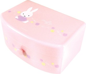Miffy Attached Jewelry Box Pink