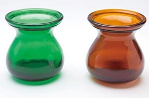 【デッドストック】ひさご瓶 茶 グリーン