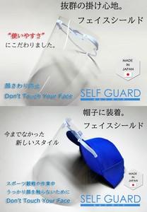 セルフガードお試しセット(通常タイプとキャップ・ヘルメット装着タイプ、取替フィルムのセット)