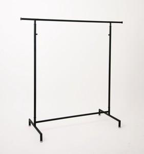 Hanger rack w1200 黒皮風塗装 ハンガーラック